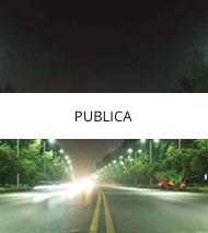 iluminación pública